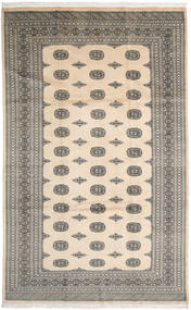 Pakistan Bokhara 2Ply Rug 200X326 Authentic  Oriental Handknotted Beige/Dark Grey/Light Grey (Wool, Pakistan)