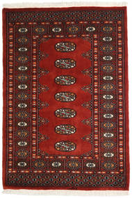 Pakistan Bokhara 2Ply Rug 83X120 Authentic  Oriental Handknotted Dark Red/Rust Red (Wool, Pakistan)
