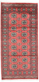 Pakistan Bokhara 2Ply Rug 99X205 Authentic  Oriental Handknotted Orange/Dark Red (Wool, Pakistan)