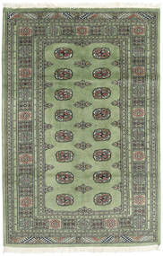 Pakistan Bokhara 2Ply Matto 123X186 Itämainen Käsinsolmittu Tummanharmaa/Oliivinvihreä (Villa, Pakistan)