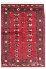 Pakistan Bokhara 2Ply Rug 136X199 Authentic  Oriental Handknotted Crimson Red/Dark Red (Wool, Pakistan)