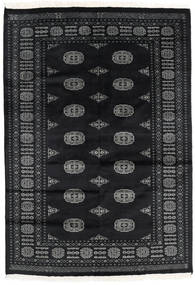 Pakistan Bokhara 2Ply Rug 135X194 Authentic  Oriental Handknotted Black/Dark Grey (Wool, Pakistan)