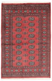 Pakistan Bokhara 2Ply Matto 137X207 Itämainen Käsinsolmittu Ruoste/Tummanpunainen (Villa, Pakistan)