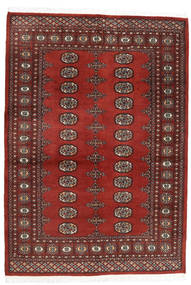 Pakistan Bokhara 2Ply Rug 137X196 Authentic  Oriental Handknotted Dark Red/Brown (Wool, Pakistan)