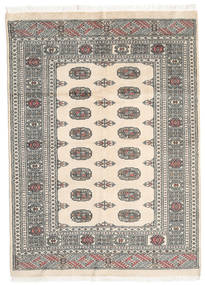 Pakistan Bokhara 2Ply Rug 137X189 Authentic  Oriental Handknotted Beige/Light Grey/Dark Grey (Wool, Pakistan)