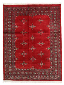 Pakistan Bokhara 2Ply Rug 137X178 Authentic  Oriental Handknotted Crimson Red/Dark Red (Wool, Pakistan)