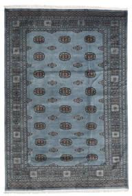 Pakistan Boukhara 2Ply Tapis 170X250 D'orient Fait Main Gris Foncé/Bleu (Laine, Pakistan)