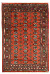 Pakistan Bokhara 2Ply Rug 172X249 Authentic  Oriental Handknotted Dark Red/Dark Brown (Wool, Pakistan)
