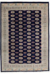 Pakistan Bokhara 3Ply Matto 201X290 Itämainen Käsinsolmittu Tummanvioletti/Vaaleanruskea (Villa, Pakistan)