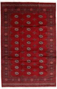 Pakistan Bokhara 3Ply Matto 203X315 Itämainen Käsinsolmittu Tummanpunainen/Punainen (Villa, Pakistan)