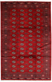 Pakistan Bokhara 3Ply Rug 202X315 Authentic  Oriental Handknotted Crimson Red/Dark Red (Wool, Pakistan)