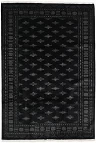 Pakistan Bokhara 3Ply Rug 206X300 Authentic  Oriental Handknotted Black (Wool, Pakistan)