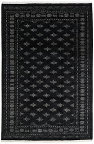 Pakistan Bokhara 3Ply Rug 200X301 Authentic  Oriental Handknotted Dark Blue/Dark Grey (Wool, Pakistan)