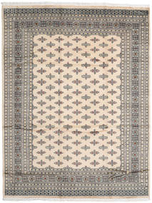 Pakistan Bokhara 2Ply Rug 247X322 Authentic  Oriental Handknotted Light Grey/Beige (Wool, Pakistan)