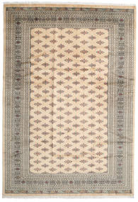 Pakistan Bokhara 3Ply Rug 247X359 Authentic  Oriental Handknotted Light Brown/Beige (Wool, Pakistan)