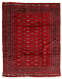 Pakistan Bokhara 3Ply Rug 241X306 Authentic  Oriental Handknotted Crimson Red/Dark Red (Wool, Pakistan)