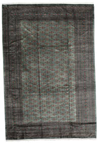 Pakistan Bokhara 3Ply Rug 245X366 Authentic  Oriental Handknotted Dark Grey/Black (Wool, Pakistan)