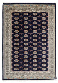 Pakistan Bokhara 3Ply Rug 207X299 Authentic  Oriental Handknotted Dark Purple/Light Grey (Wool, Pakistan)