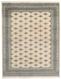 パキスタン ブハラ 2Ply 絨毯 202X260 オリエンタル 手織り 薄茶色/薄い灰色 (ウール, パキスタン)