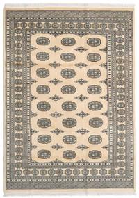 Pakistan Bokhara 2Ply Matta 167X237 Äkta Orientalisk Handknuten Beige/Ljusbrun/Mörkgrå (Ull, Pakistan)