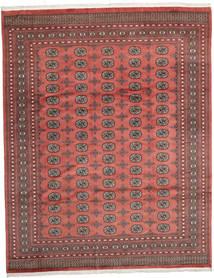 Pakistan Bukhara 2Ply Covor 247X312 Orientale Lucrat Manual Roșu-Închis/Ruginiu (Lână, Pakistan)
