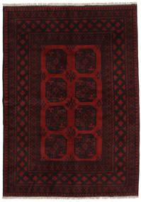 Afgan Dywan 163X231 Orientalny Tkany Ręcznie Ciemnoczerwony (Wełna, Afganistan)