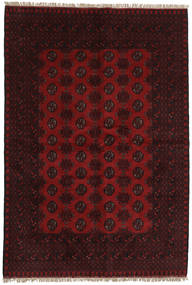 Afghan Rug 161X235 Authentic  Oriental Handknotted Dark Brown/Dark Red (Wool, Afghanistan)