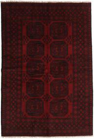Afghan Rug 162X239 Authentic  Oriental Handknotted Dark Red (Wool, Afghanistan)