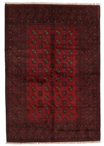 Afghan Rug 161X237 Authentic  Oriental Handknotted Dark Red (Wool, Afghanistan)