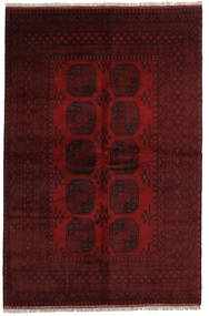 Afghan Rug 162X246 Authentic  Oriental Handknotted Dark Brown/Dark Red (Wool, Afghanistan)