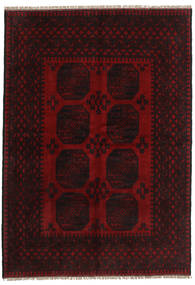 Afghan Rug 163X234 Authentic  Oriental Handknotted Dark Brown/Dark Red (Wool, Afghanistan)