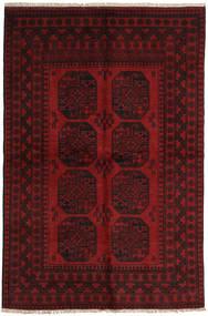 Afghan Rug 153X234 Authentic  Oriental Handknotted Dark Brown/Dark Red (Wool, Afghanistan)