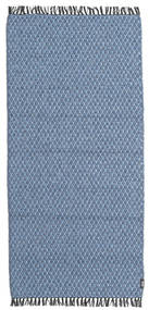 Comfort - Blue Rug 70X150 Modern Light Blue/Blue ( Sweden)