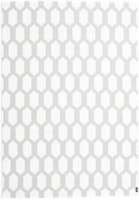 Fortuna - Szary/White Dywan 150X210 Nowoczesny Biały/Creme/Jasnoszary ( Szwecja)