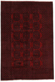 Afghan Rug 199X292 Authentic  Oriental Handknotted Dark Brown/Dark Red (Wool, Afghanistan)