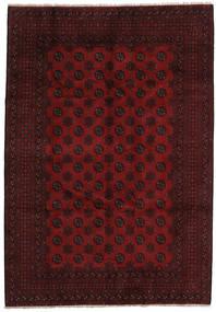 アフガン 絨毯 198X286 オリエンタル 手織り 深紅色の (ウール, アフガニスタン)