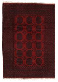 アフガン 絨毯 203X287 オリエンタル 手織り 深紅色の (ウール, アフガニスタン)