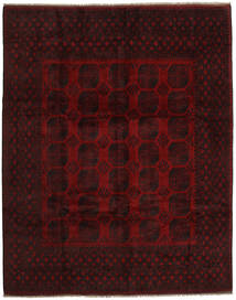 Afghan Rug 302X377 Authentic  Oriental Handknotted Dark Brown/Dark Red Large (Wool, Afghanistan)