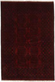 Afgan Dywan 165X245 Orientalny Tkany Ręcznie Ciemnobrązowy/Ciemnoczerwony (Wełna, Afganistan)