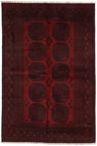 Afghan Matto 158X240 Itämainen Käsinsolmittu Tummanruskea/Tummanpunainen (Villa, Afganistan)