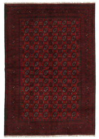 Afghan Rug 161X237 Authentic  Oriental Handknotted Dark Brown/Dark Red (Wool, Afghanistan)