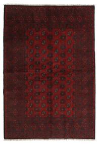 Afghan Rug 160X236 Authentic  Oriental Handknotted Dark Red (Wool, Afghanistan)