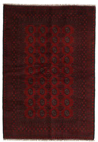 Afghan Rug 161X236 Authentic  Oriental Handknotted Dark Brown/Dark Red (Wool, Afghanistan)