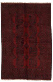 Afgan Dywan 154X233 Orientalny Tkany Ręcznie Ciemnoczerwony (Wełna, Afganistan)
