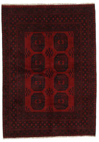 Afghan Rug 169X239 Authentic  Oriental Handknotted Dark Brown/Dark Red (Wool, Afghanistan)