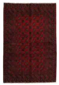 Afghan Rug 159X237 Authentic  Oriental Handknotted Dark Red (Wool, Afghanistan)