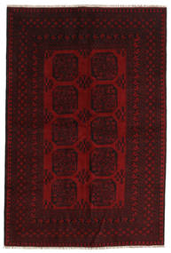 Afghan Rug 159X237 Authentic  Oriental Handknotted Dark Brown/Dark Red (Wool, Afghanistan)
