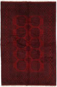 Afghan Rug 160X245 Authentic  Oriental Handknotted Dark Red/Dark Brown (Wool, Afghanistan)