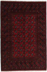 Afghan Rug 160X240 Authentic  Oriental Handknotted Dark Red (Wool, Afghanistan)