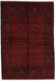 Afghan Rug 163X237 Authentic  Oriental Handknotted Dark Brown/Dark Red (Wool, Afghanistan)